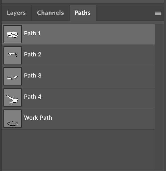 photoshop path