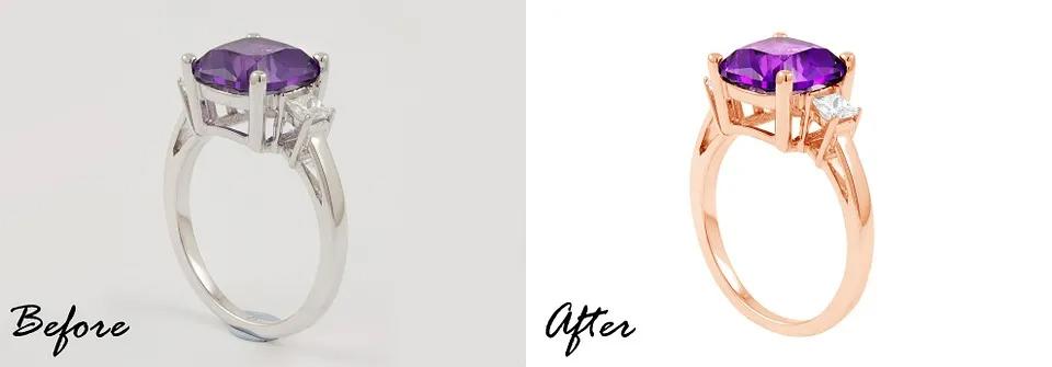 Jewelry photography tips - jewelry photo retouching