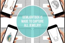 Jewelry Photography: How to take jewelry pictures using the GemLightbox