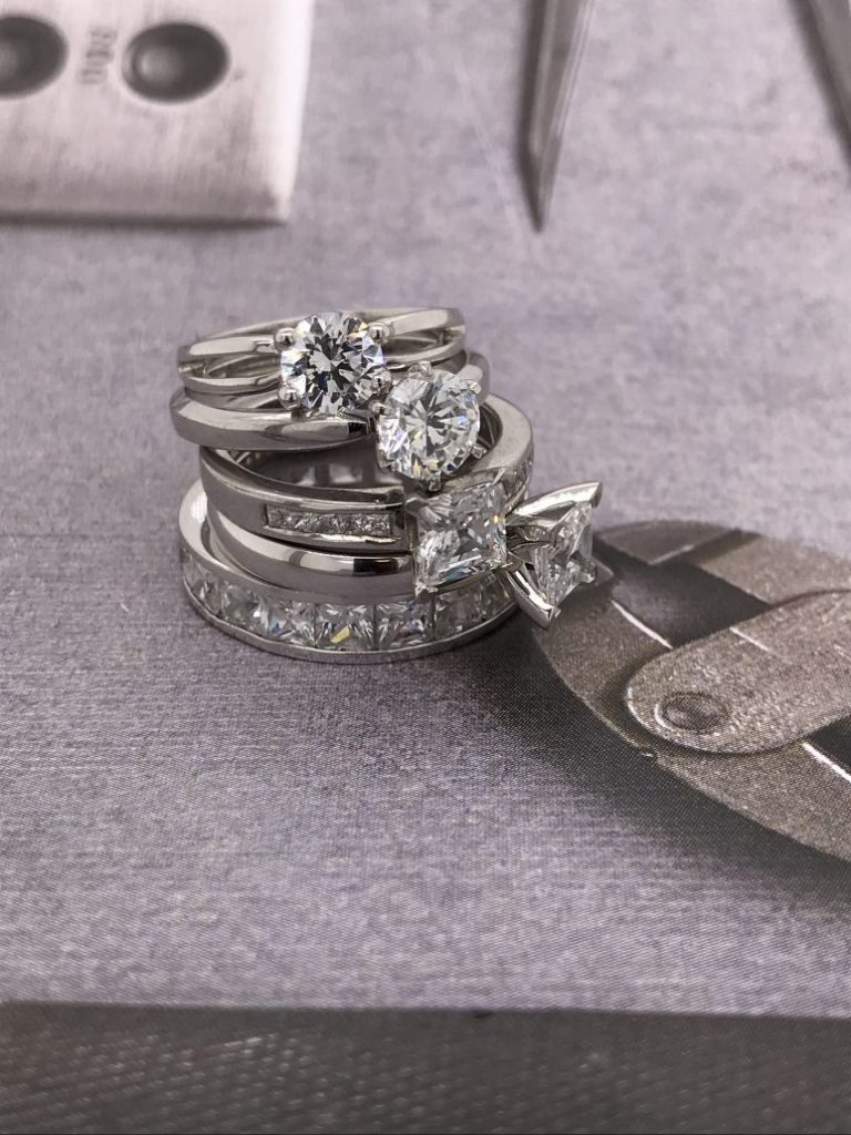 how to capture rings for social media - placement of rings