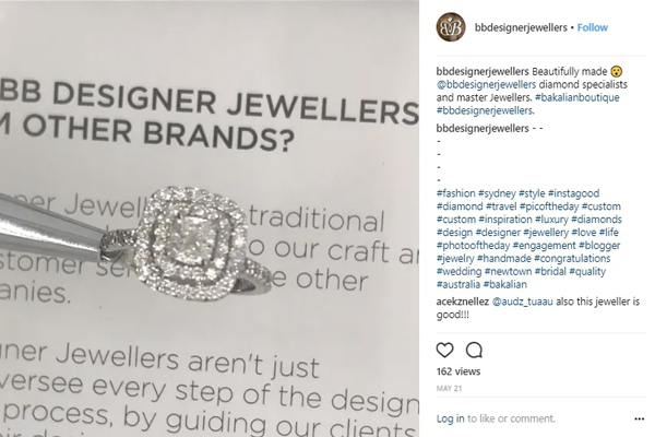 how to sell jewelry on instagram bb designer jewellers