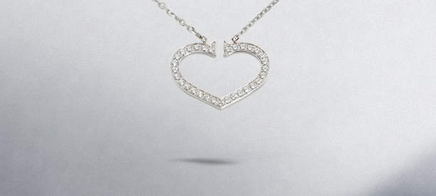 Jewelry background ideas - jewelry on a grey background