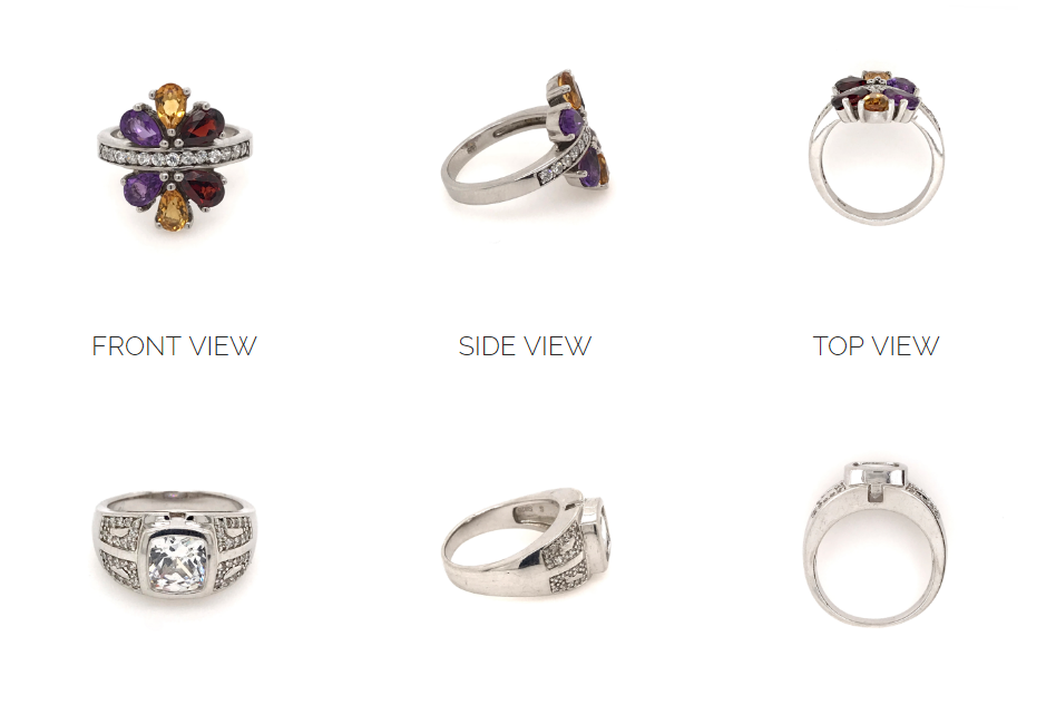 Jewelry photography insurance guide - decide which angles you need to photograph
