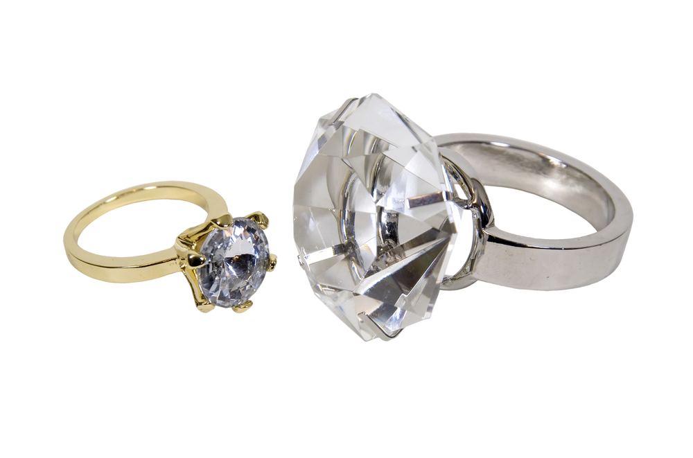 show scale when capturing jewelry images