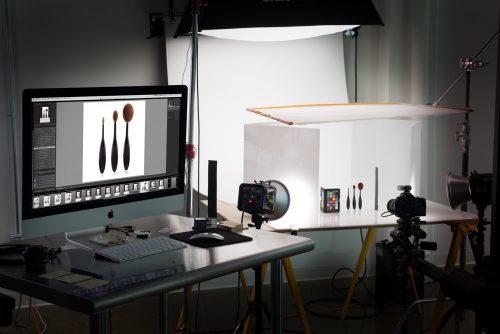 jewelry photography setup