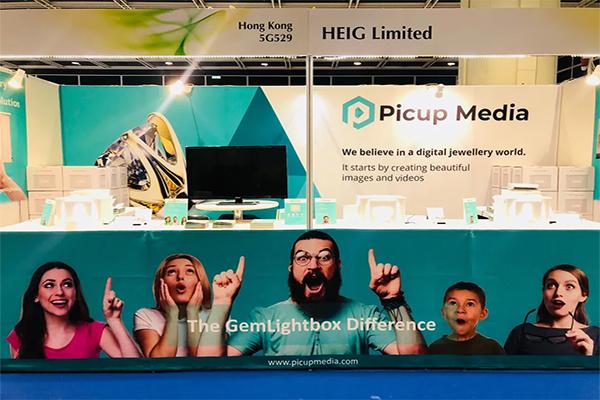 september hong kong 2018 picup media booth