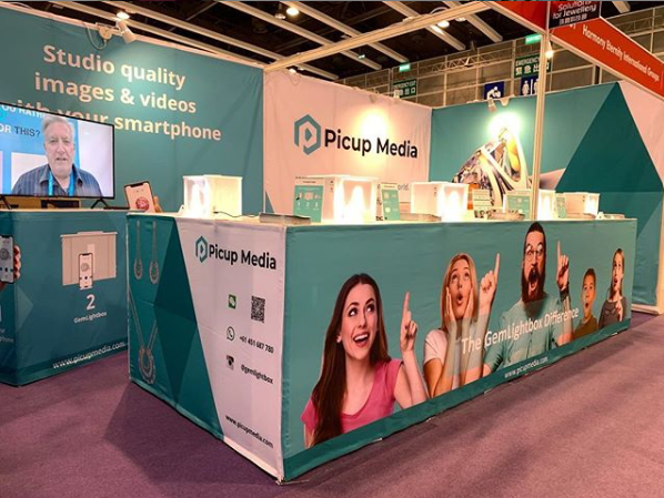 Picup Media at the Hong Kong Jewellery & Gem Fair 2019