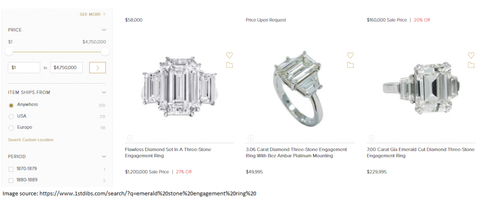 How to sell jewelry on 1stdibs