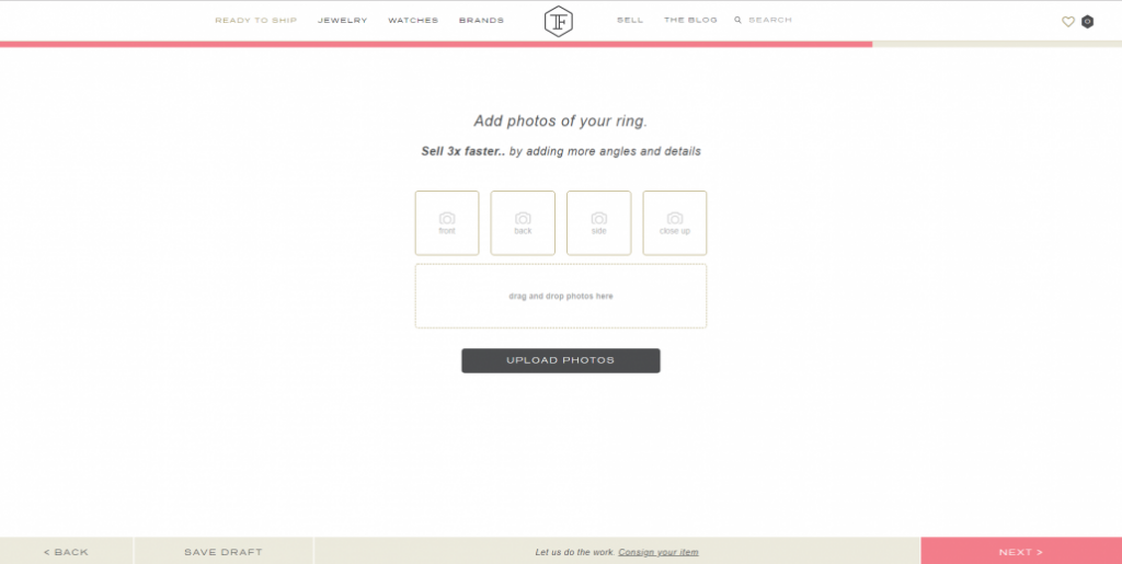 Online Marketplaces: 360-Degree Jewelry Product Videos