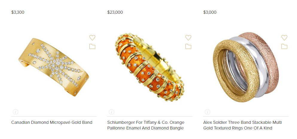 Top 5 online jewelry marketplaces for all types of jewelry
