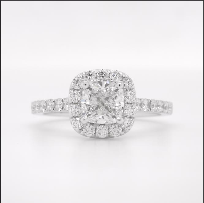 diamond ring after resizing