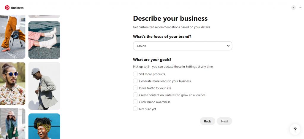 Build your profile