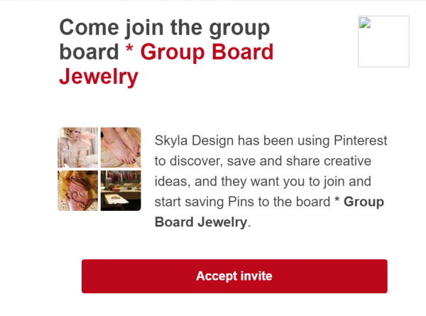 How to use Pinterest for Jewelry Business: Join Group Boards