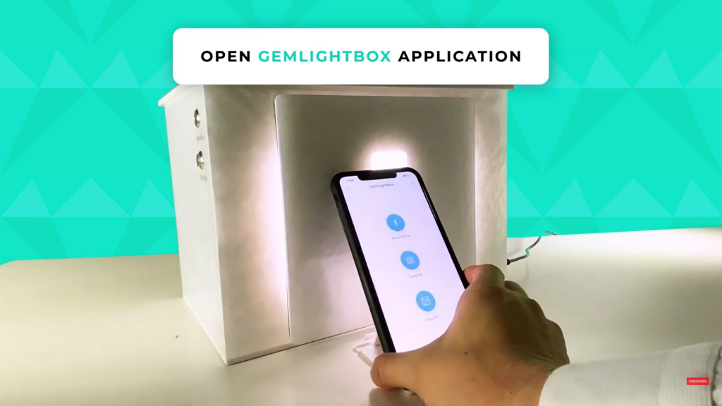 Step 4. Open the GemLightbox application