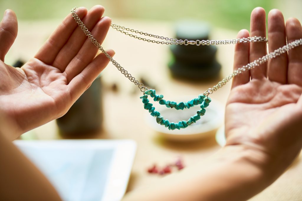 reuse and repurpose materials to become an ethical jewelry brand