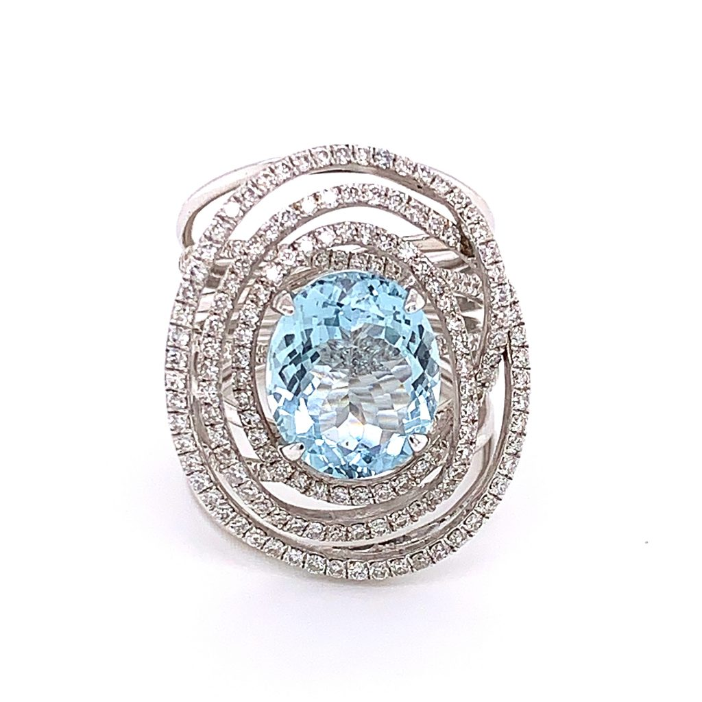 aquamarine the birthstone for March