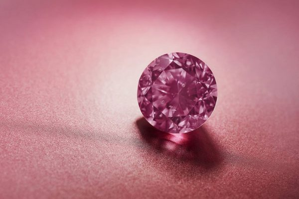 2.24-carat fancy-vivid-purplish-pink Argyle Eternity pink diamond