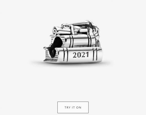 2021 Graduation Charm by Pandora