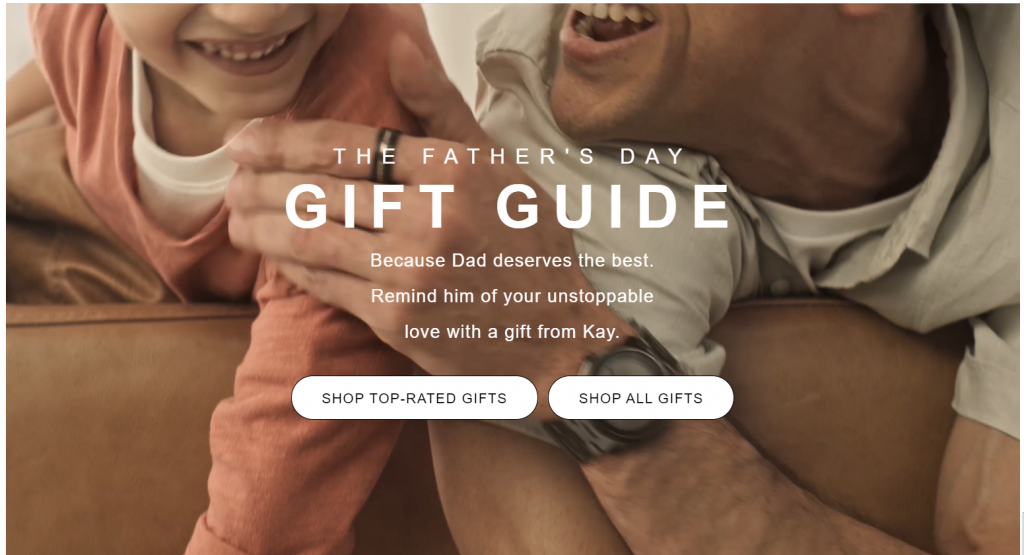 Create a Father's Day gift guide