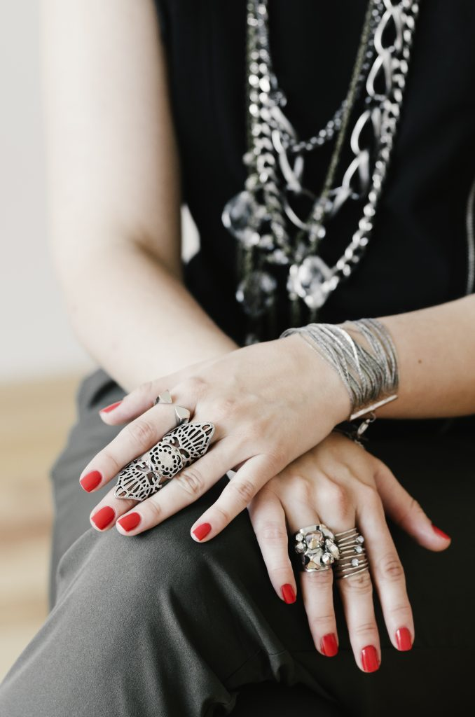 layering is one of the jewelry trends in this pandemic